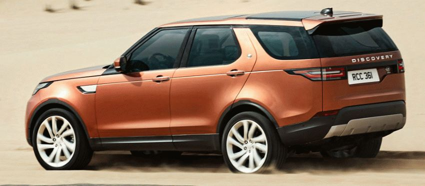 vnedorozhniki land rover | land rover discovery 8 | Land Rover Discovery (Ленд Ровер Дискавери) 2017 2018 | Land Rover Discovery