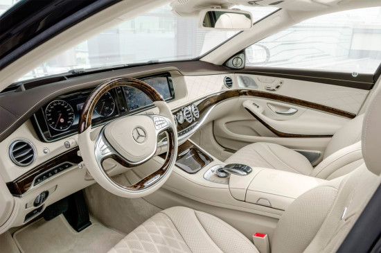 интерьер салона Mercedes-Benz S-Class Maybach