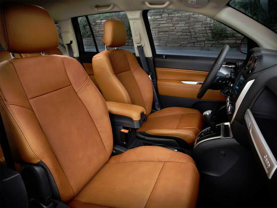 в салоне Jeep New Compass FL