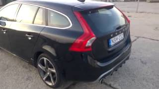Volvo V60 VIN number locations