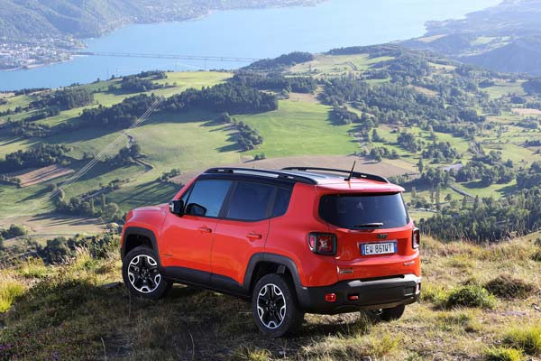 фотографии jeep renegade 2019